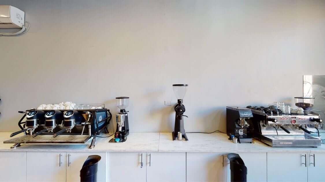 coffee training room